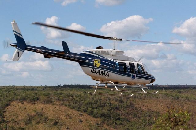 Os recursos cedidos pelo Fundo Amazônia serão utilizados para pagar o aluguel de veículos (carro e helicóptero) utilizados na fiscalização da região. Foto: Ibama/Flickr