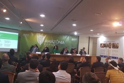 Procuradora-geral da República, Raquel Dodge, no lançamento do projeto Amazônia Protege. Foto: Ascom/MPF.