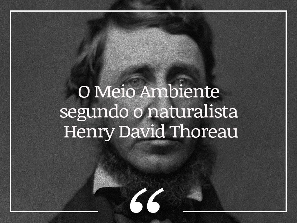 O Meio Ambiente segundo o naturalista Henry David Thoreau - ((o))eco