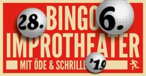 Bild Banner Bingo Improtheater mit Öde und Schriller