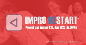 Bild Banner Improtheater Re-Start mit Öde und Schriller