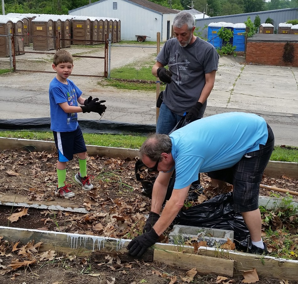 Garden Work at Buley Center