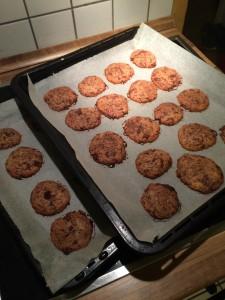 ....und die Cookies werden zu braun.