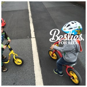 Die coole Laufrad-Gang