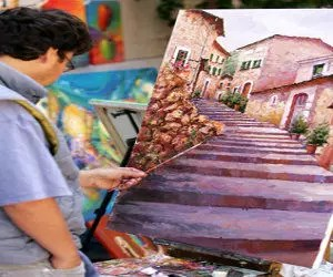 Ölbilder malen