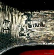 Bild 10: Stempel am Schaft eines Locheisen, Sammlung Benecke