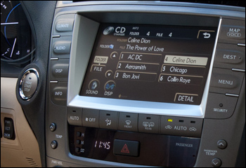 2011 lexus es 350 bluetooth music