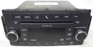 Jeep Wrangler 2009 2010 2011 Factory Stereo MP3 CD Player