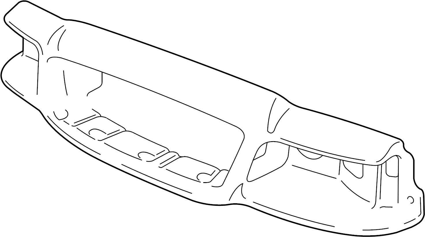 Ford Crown Victoria Headlight Mounting Panel Front