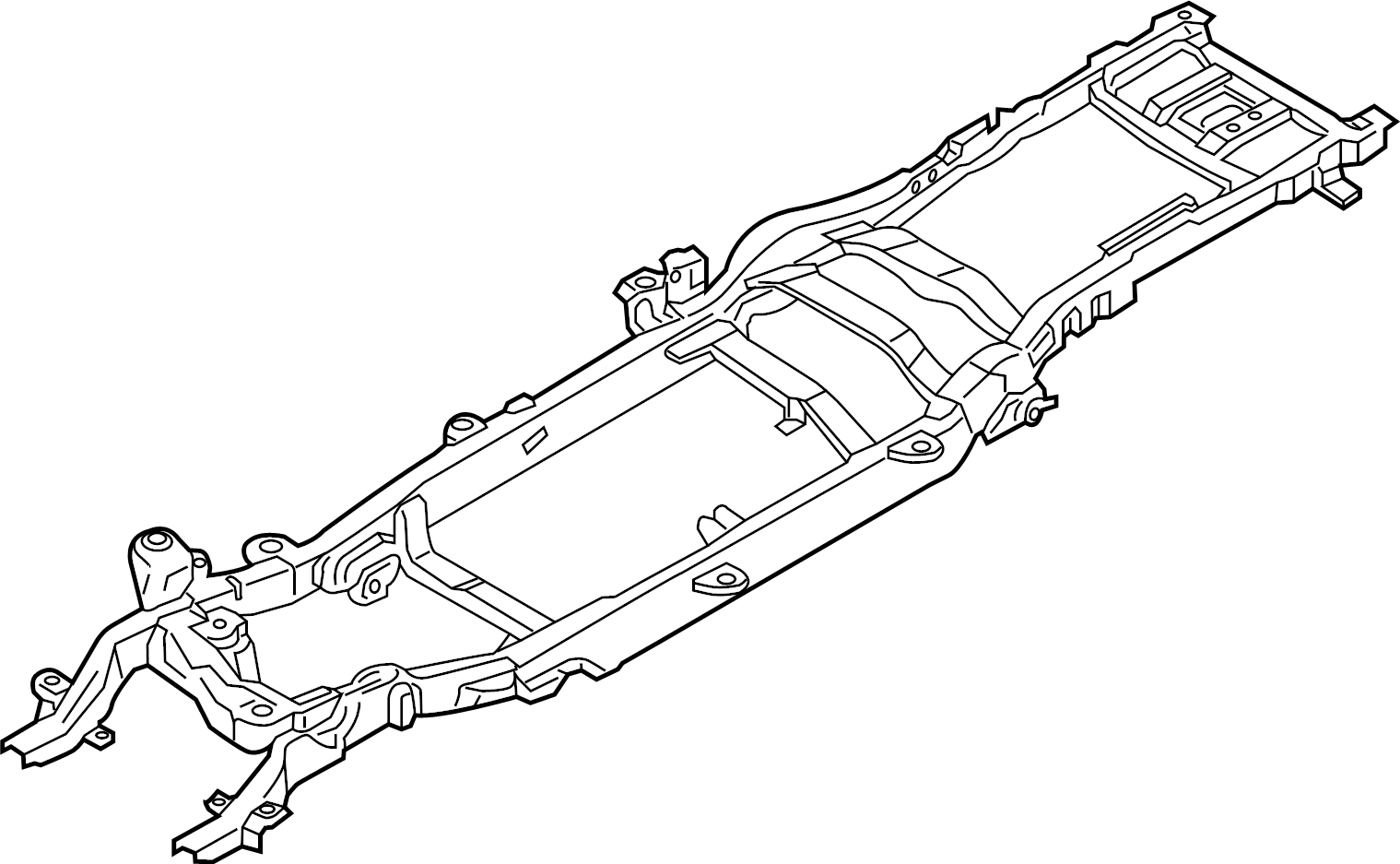 Ford F 250 Super Duty Frame Rail