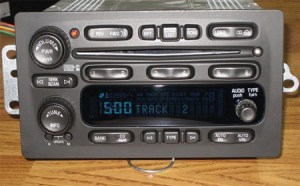 2003 Chevy Radio Gallery