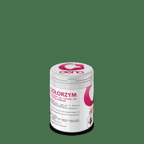 COLORZYM enzima per l'estrazione del colore da uve rosse