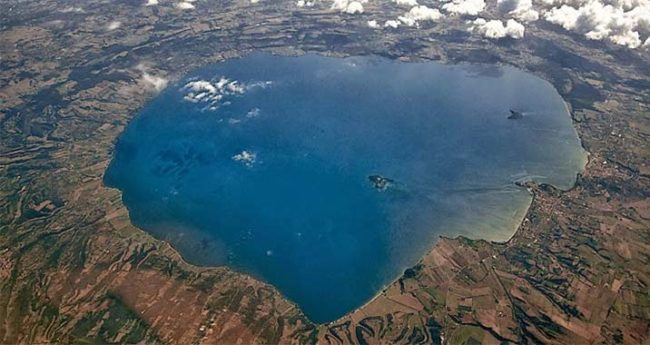 Lac de Bolsena Tuscia