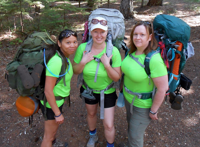 The Women of the PCT Expedition