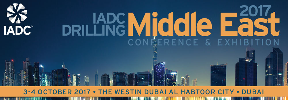 Leon Dashwood to present at IADC Drilling Middle East 2017 Conference & Exhibition in Dubai