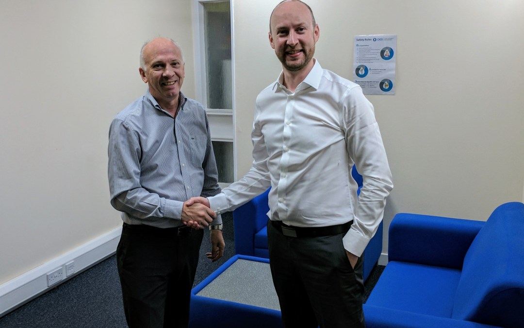 OES appoint Paul Brown as Account / Business Development Manager Aberdeen Office