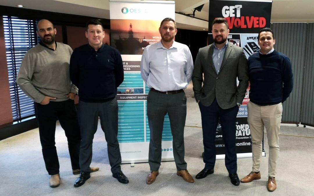 OES sponsors Christmas Drops Forum Meeting