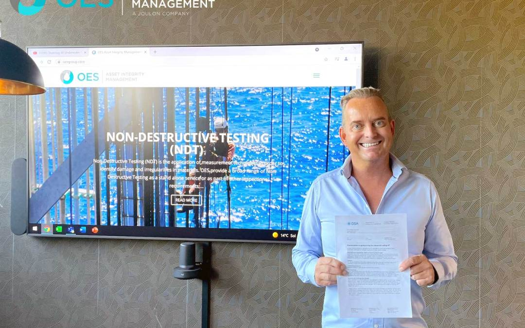 OES Achieve Industrial Radiation Licence Certificate in Norway