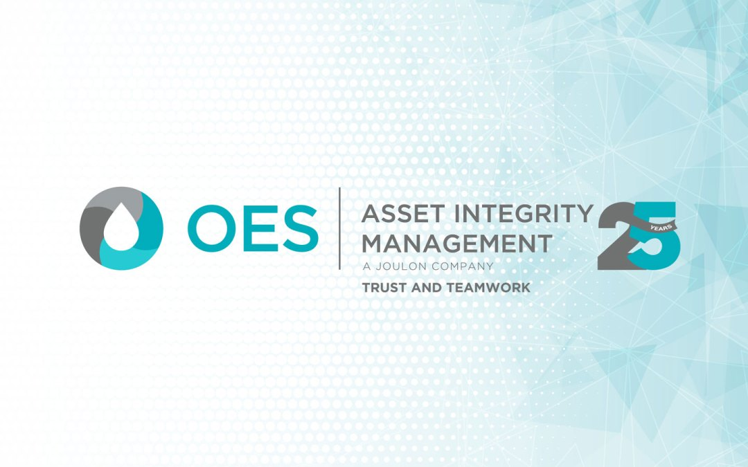 OES MILESTONE – 25 YEARS OF ASSET INTEGRITY