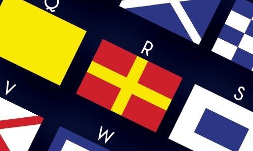 Wat betekenen de vlaggen?