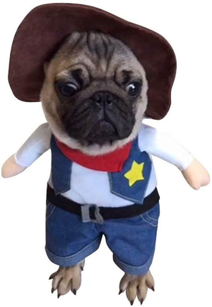disfraz de perro del oeste