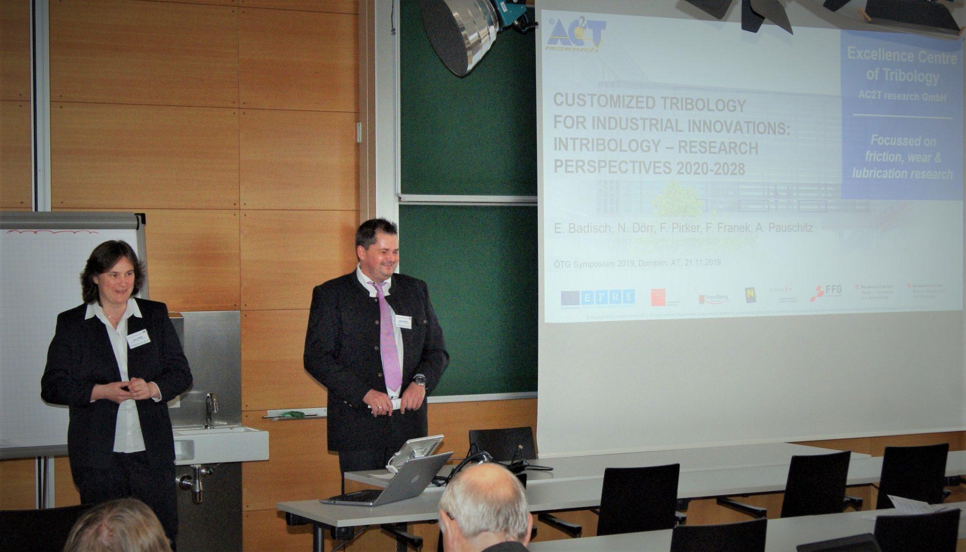 Austrian Tribology Conference (ÖTG Symposium 2019) – 21.11.2019
