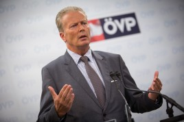 Reinhold Mitterlehner, Bundesparteiobmann der ÖVP