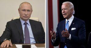 Vladimir Putin e Joe Biden