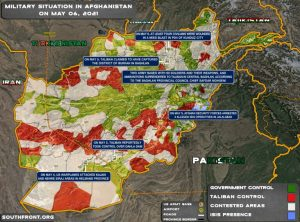 Afghanistan: spartizione territori