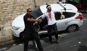 israeliano aggredito