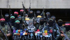 Miliziani a Gaza