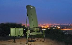 MMR Elta radar Iron Dome