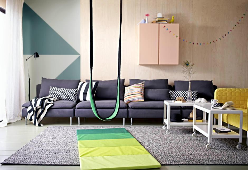 Swing In The Living Room Interior Design Ideas Ofdesign