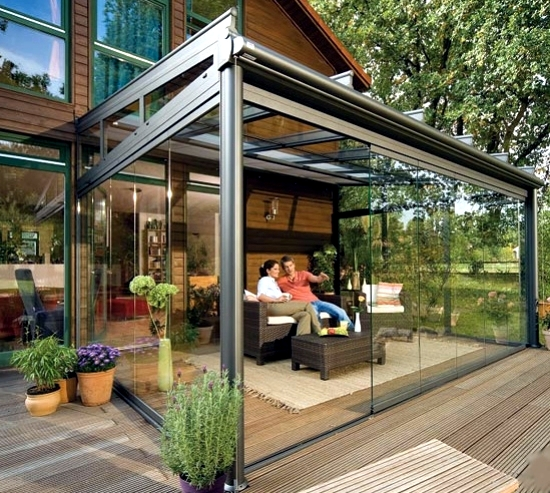 glass canopy for your terrace a