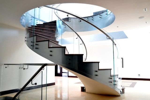 The Modern Steel Staircase Inside And Outside For Amazing Design   Steel Design For Stairs   Steel Railing   2 Story Steel   Step   Fancy   Low Cost