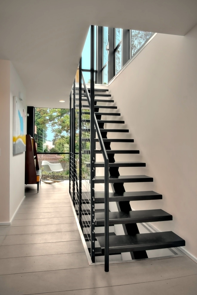 The Modern Steel Staircase Inside And Outside For Amazing Design | Designs Of Stairs Inside House | Interior | 2Nd Floor | Duplex | Recent | House Indoor