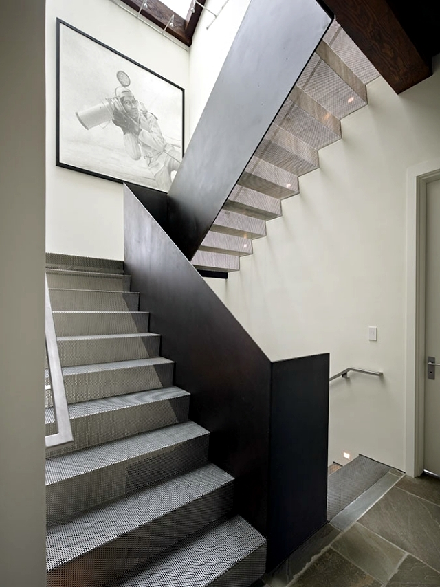 The Modern Steel Staircase Inside And Outside For Amazing Design | House Stair Design Outside | Outside Staircase Grill | Backyard Stair | Unique | Low Cost | Recent