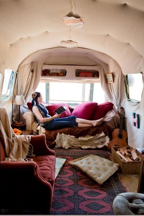 Caravan Decoration Create A Retro Touch Interior
