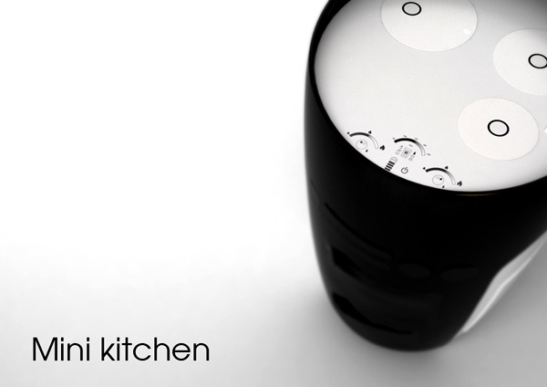 Mini Kitchen Compact All In One Concept For Small Spaces