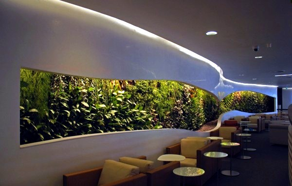 Vertical Gardens Inside And Outside A Bright Future For Green Wall Interior Design Ideas