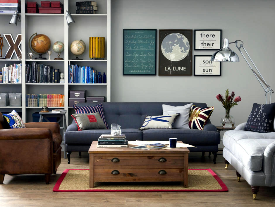 Wall decor with framed prints   Interior Design Ideas ... on Room Decor Posters id=82353