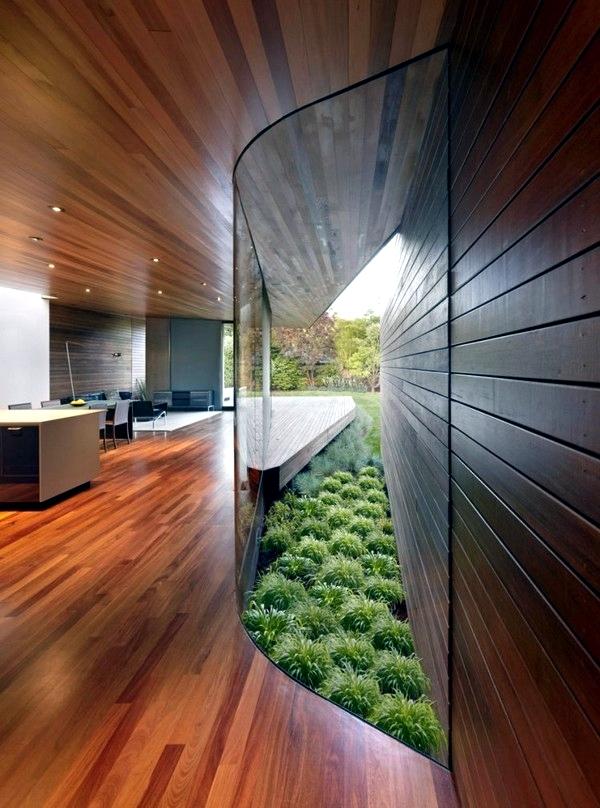 Contemporary Wall Cladding Wood Creates A Warm Interior Design Ideas Ofdesign