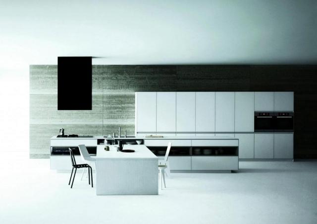 Matt Modern White Kitchen Meson De Vetronica Interior Design Ideas Ofdesign