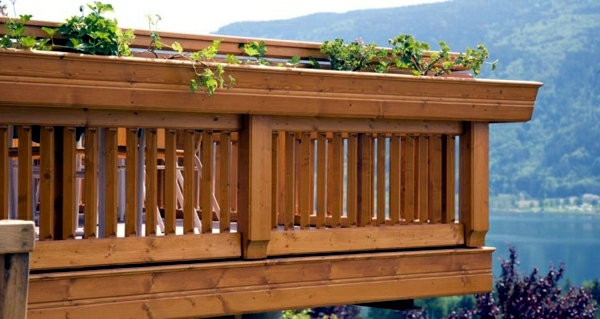 Railings On The Balcony Stainless Steel Wood Or Glass Interior Design Ideas Ofdesign