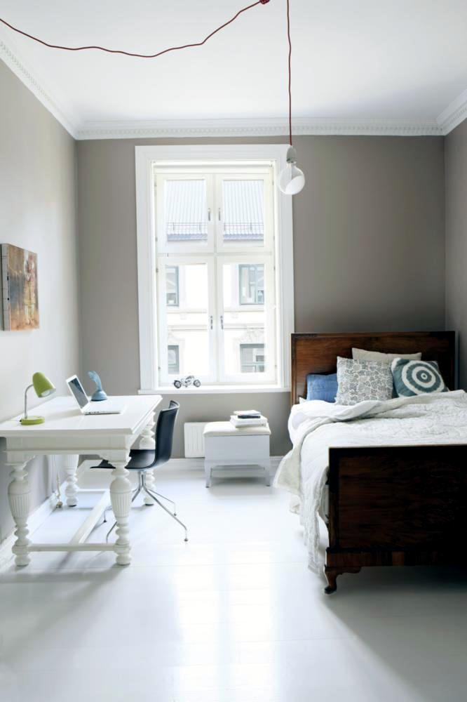 Wooden single bed for small rooms | Interior Design Ideas ...