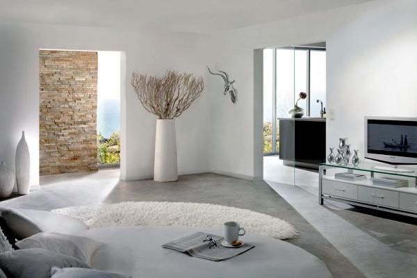 Pure White Minimalist Living Room 20 Modern Design Ideas