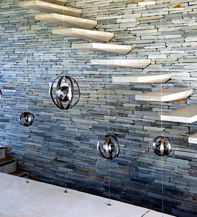 Modern Concrete Stairs – 22 Ideas For Interior And Exterior Stairs   Wood And Concrete Stairs   House   Internal   Glass   Small Space   Pinterest