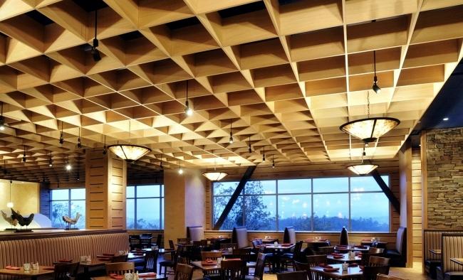 Natural Wood Pendant Light