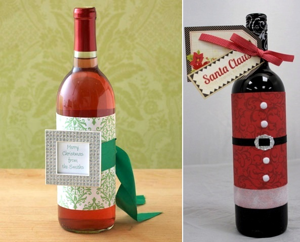 Christmas Decor Wine Bottle Repurpose Projects Diy Por Pin