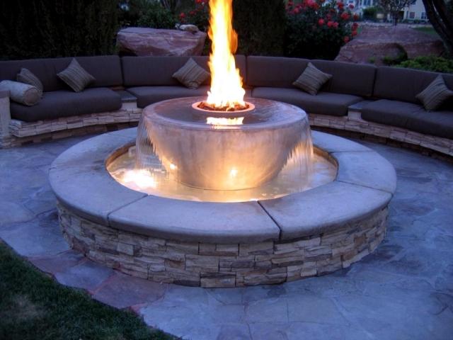 garden stone fountain 25 ideas for